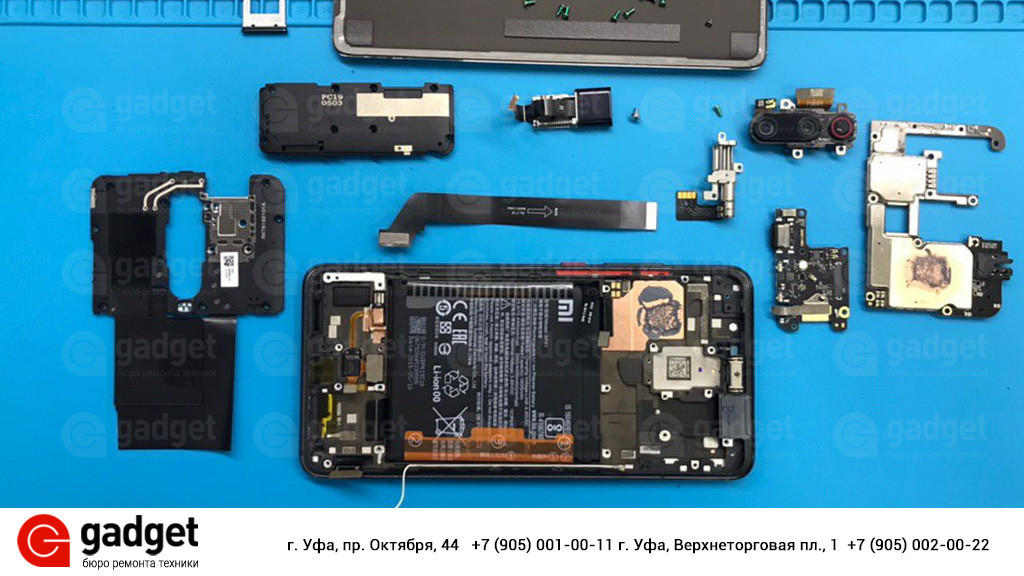 Разборка Xiaomi Mi 9T