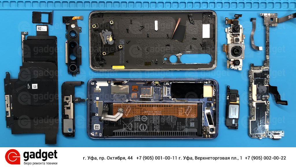 Разборка Xiaomi Mi 10